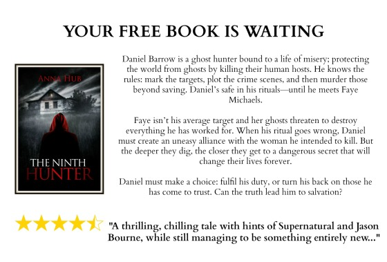 The Ninth Hunter - Your FREE book is waiting