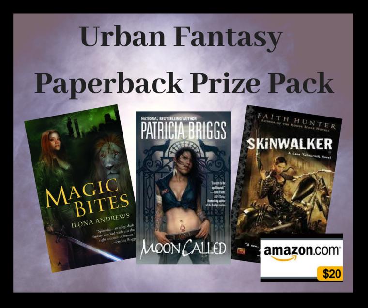 Urban Fantasy Paperback Prize Pack 2