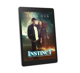 Instinct Kindle 3D Cover